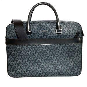 Michael Kors Harrison Front Zip Briefcase-Laptop